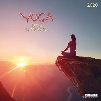 Calendario 2020 Yoga