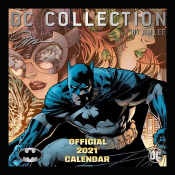 Calendar 2021 Batman Comics