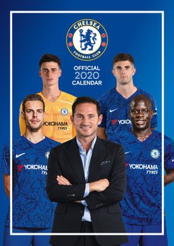 Calendar 2021 Chelsea FC