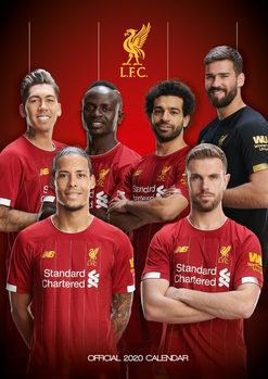 Calendar 2021 Liverpool FC