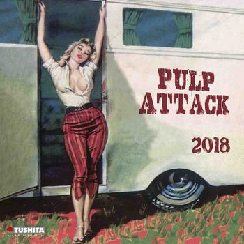 Calendar 2021 Pulp Attack