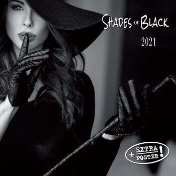 Calendar 2021 Shades of Black