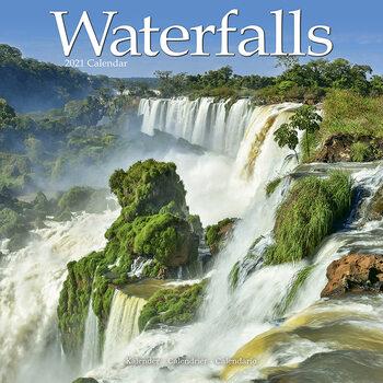 Calendar 2021 Waterfalls