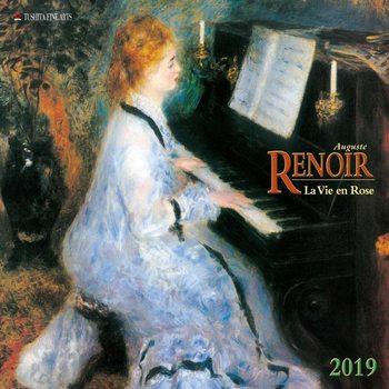 Calendar 2019  A. Renoir - La Vie en Rose