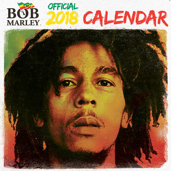 Calendar 2018 Bob Marley