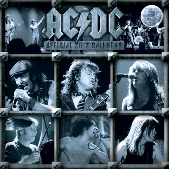 Calendar 2021 Calendario 2012 - AC / DC