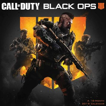 Calendar 2019  Call Of Duty