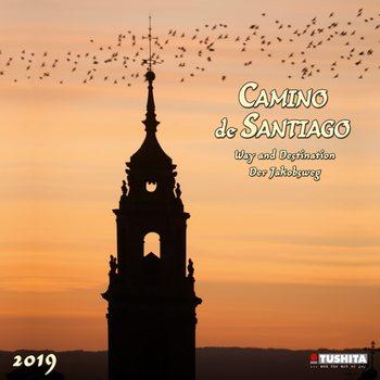 Calendar 2019  Camino de Santiago
