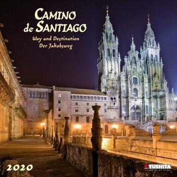 Calendar 2020  Camino de Santiago