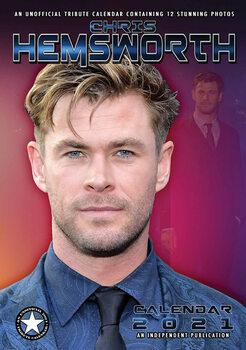 Calendar 2021 Chris Hemsworth