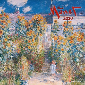 Calendar 2020  Claude Monet
