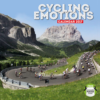 Calendar 2017 Cycling emotions