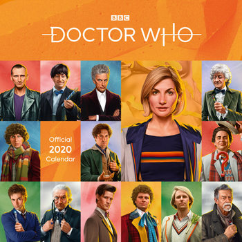 Calendar 2020  Doctor Who - Classic Edition