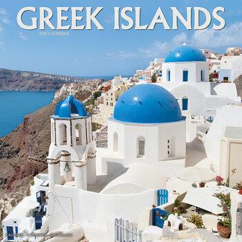 Calendar 2021 Greek Islands