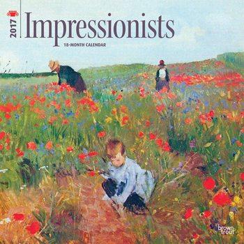Calendar 2017 Impresionistas
