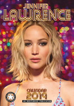 Calendar 2019  Jennifer Lawrence