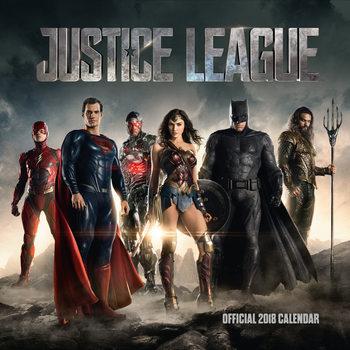 Calendar 2018 Justice League