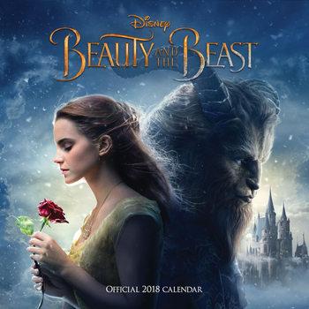Calendar 2018 La bella y la bestia