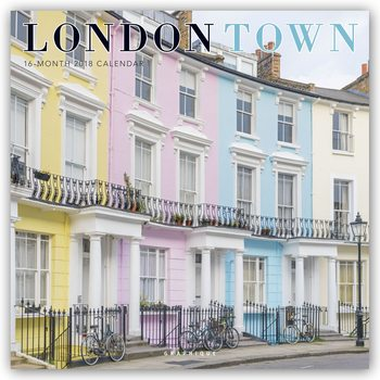 Calendar 2018 London Town
