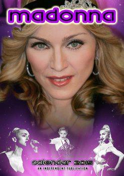 Calendar 2017 Madonna