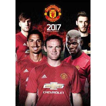 Calendar 2017 Manchester Utd