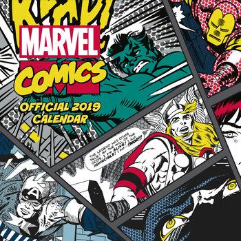 Calendar 2019  Marvel Comics