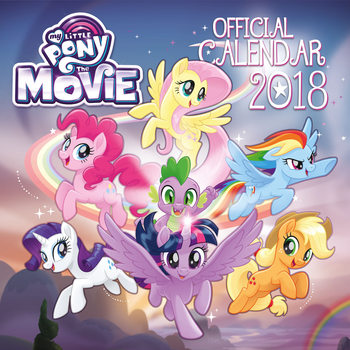 Calendar 2018 My Little Pony Movie