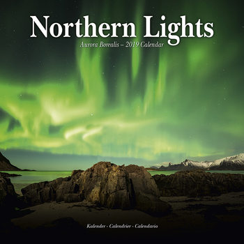 Calendar 2019  Northern Lights