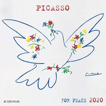 Calendar 2020  P. Picasso - War and Peace