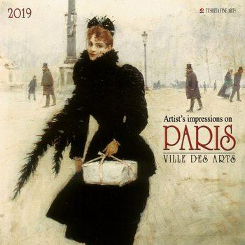 Calendar 2019  Paris - Ville des Arts