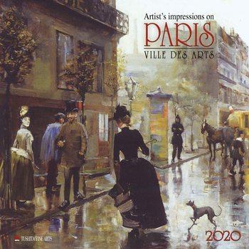 Calendar 2020  Paris - Ville des Arts