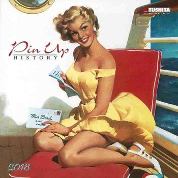 Calendar 2018 Pin Up History
