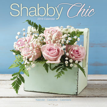 Calendar 2019  Shabby Chic