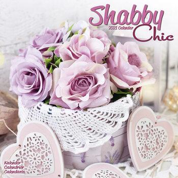 Calendar 2021 Shabby Chic