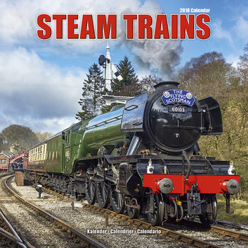 Calendar 2018 Steam Trains