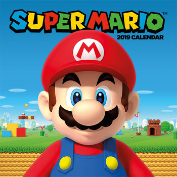 Calendar 2019  Super Mario
