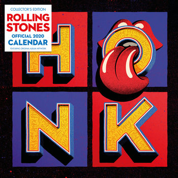 Calendar 2020  The Rolling Stones