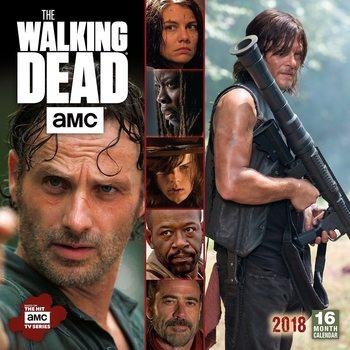 Calendar 2018 The Walking Dead