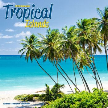 Calendar 2020  Tropical Islands