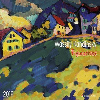 Calendar 2019  W. Kandinsky - Figuratives