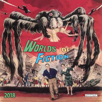Calendar 2018 Worlds of Fiction