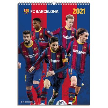 Barcelona Calendrier 2021