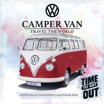 VW Camper Vans Calendrier 2021
