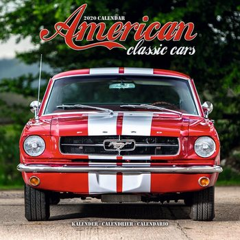 American Classic Cars Calendrier 2020