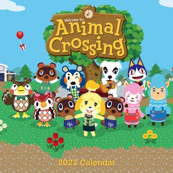 Animal Crossing Calendrier 2022