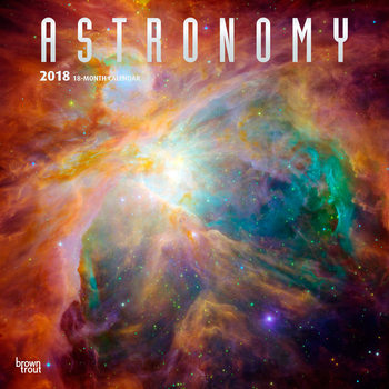 Astronomy Calendrier 2018