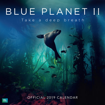 BBC Blue Planet Calendrier 2019