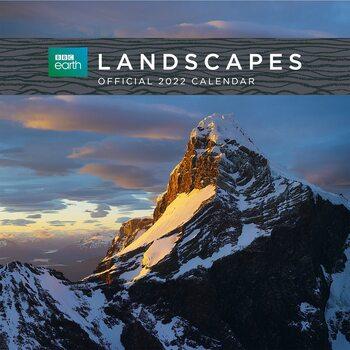BBC Earth Landscapes Calendrier 2022