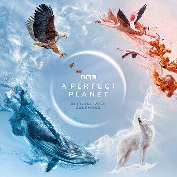 BBC Perfect Planet Calendrier 2022