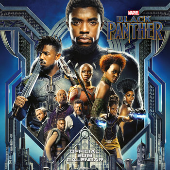 Black Panther Calendrier 2019